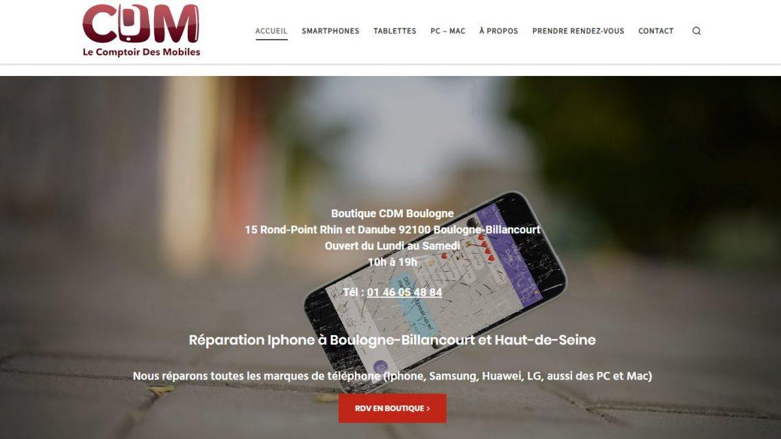 CDM : atelier de réparation iPhone sur Boulogne-Billancourt