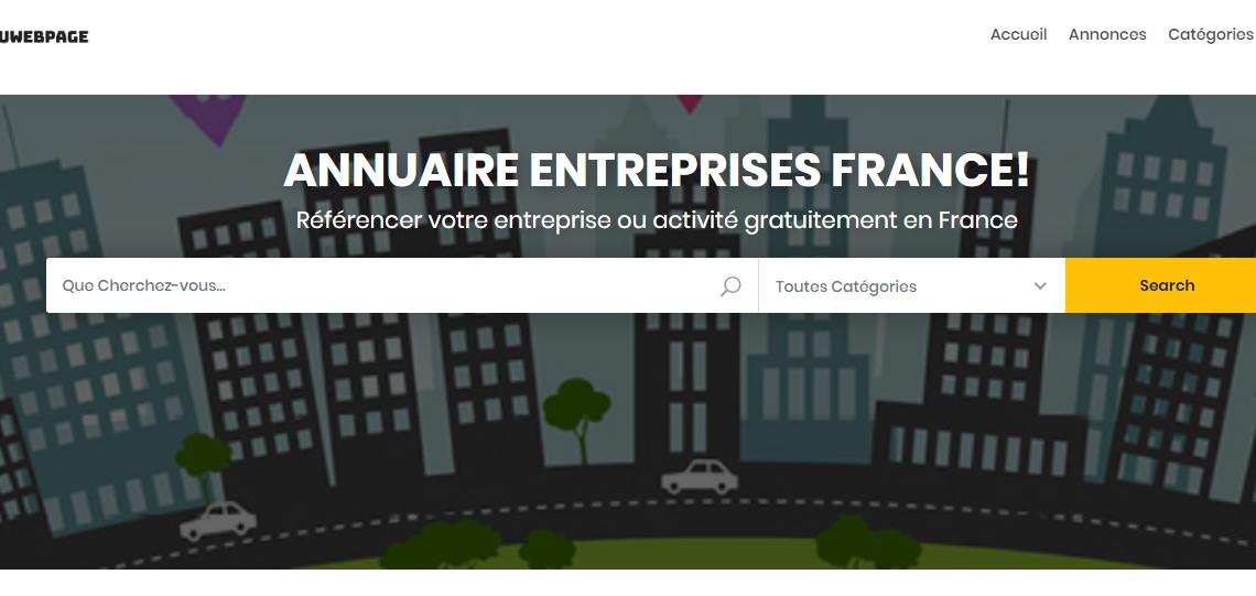 AnnuWebPages : annuaire d'entreprises