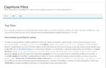 Votre site d'actualité cinémas et films Clapmovie