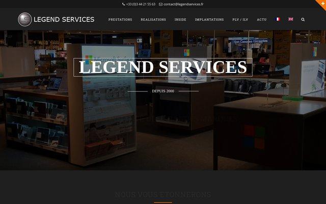 Services d'installation de supports publicitaires sur lieu de vente