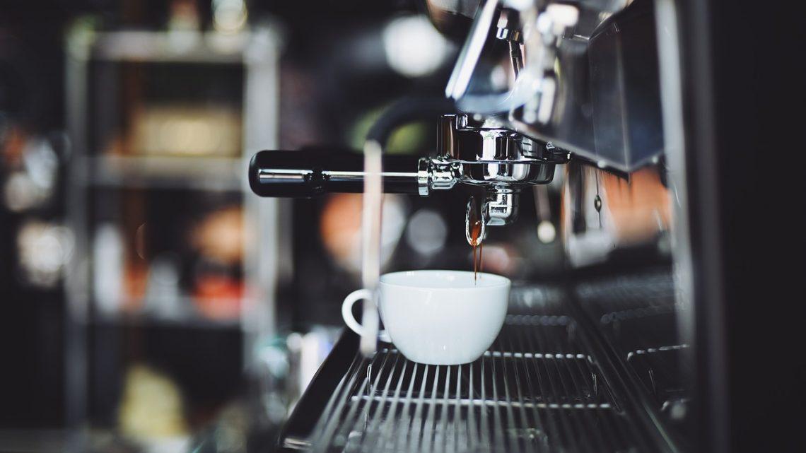 La machine à café en grains