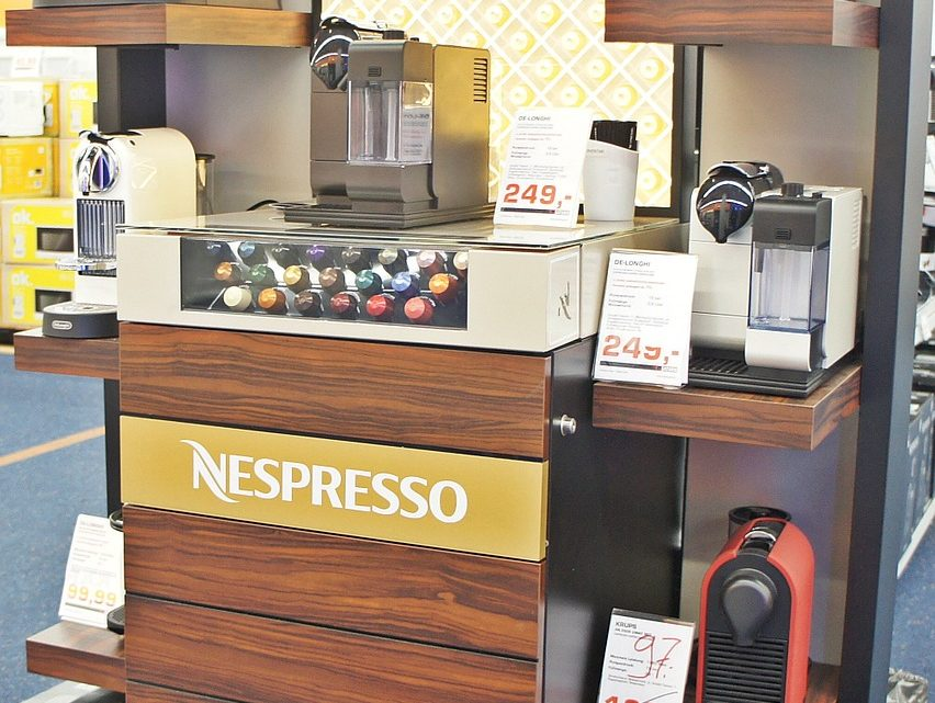 La prestigieuse machine à café Nespresso Lattissima One