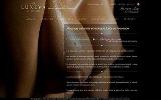 Le massage naturiste et sensuel à Luxeva