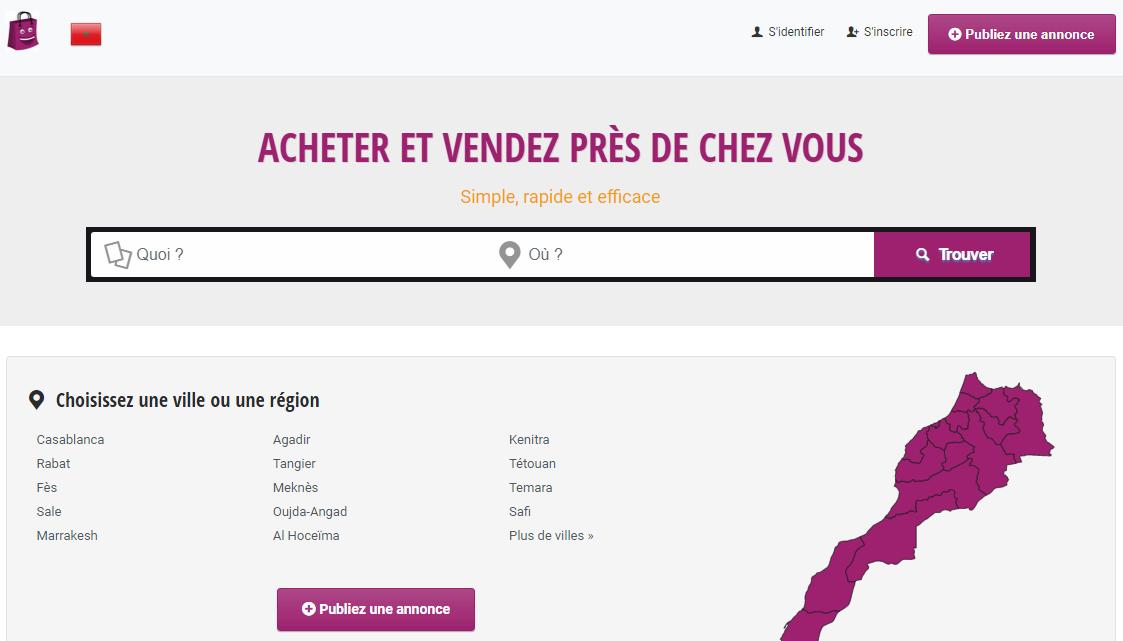 Maroc Annonce, le numéro 1 des annonces gratuites au Maroc.