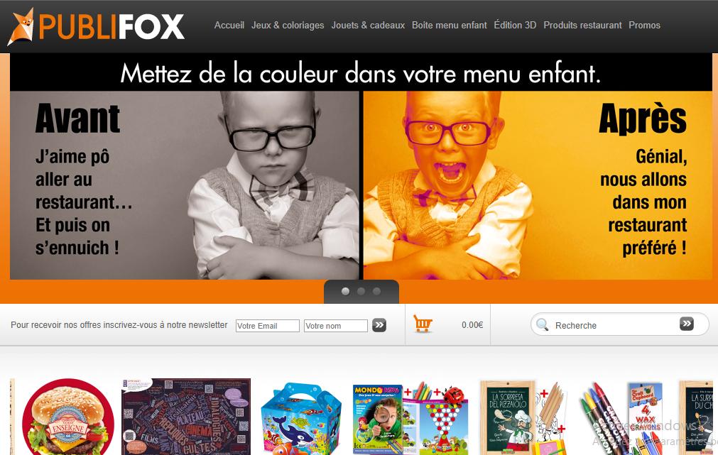 PubliFox, le spécialiste du marketing pour enfants