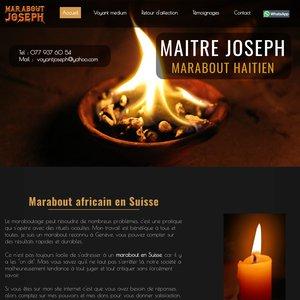 Marabout haïtien un Suisse
